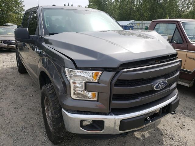 Salvage cars for sale from Copart Arlington, WA: 2015 Ford F150 Super