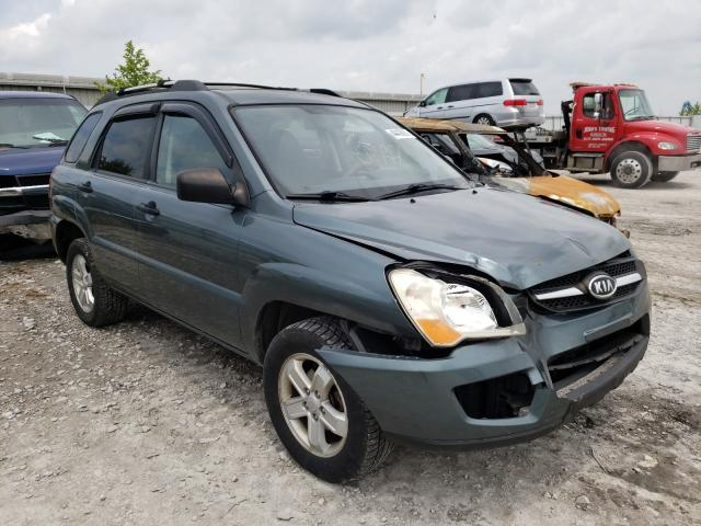 Salvage cars for sale from Copart Walton, KY: 2009 KIA Sportage L