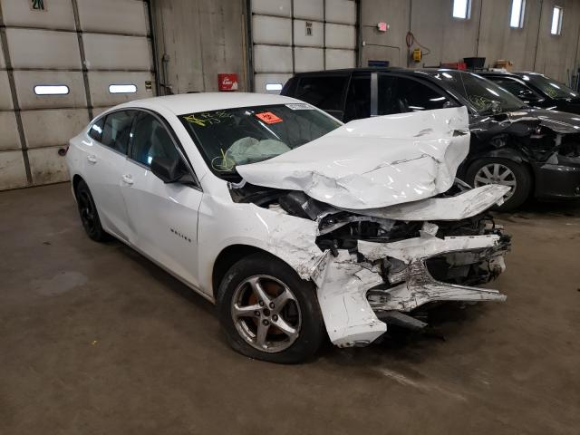Salvage cars for sale from Copart Blaine, MN: 2017 Chevrolet Malibu