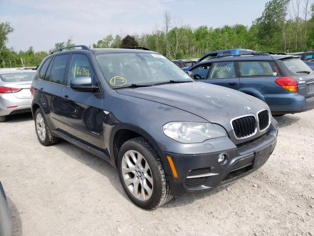 Salvage cars for sale from Copart Leroy, NY: 2012 BMW X5 XDRIVE3
