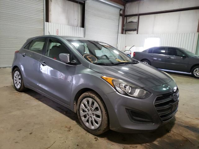 Salvage cars for sale from Copart Lufkin, TX: 2017 Hyundai Elantra GT