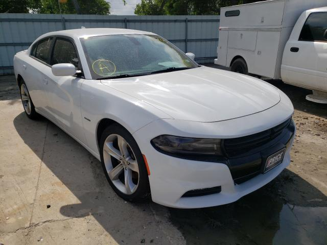Salvage cars for sale from Copart Corpus Christi, TX: 2018 Dodge Charger R