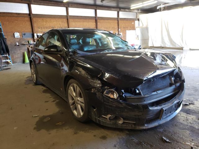 Vehiculos salvage en venta de Copart Ebensburg, PA: 2014 Chevrolet Cruze LTZ
