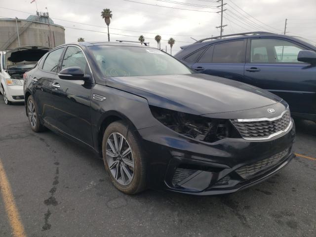 Vehiculos salvage en venta de Copart Wilmington, CA: 2019 KIA Optima LX