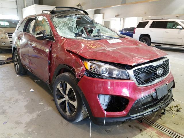 Salvage cars for sale from Copart Sandston, VA: 2016 KIA Sorento EX