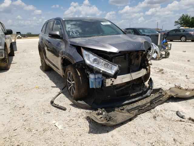 Salvage cars for sale from Copart Newton, AL: 2018 Toyota Highlander
