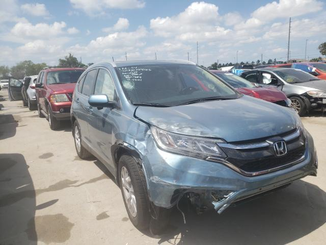 Salvage cars for sale from Copart Riverview, FL: 2015 Honda CR-V EXL