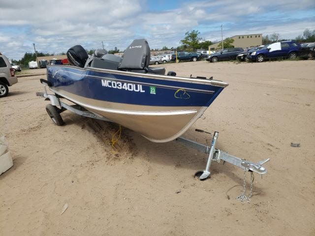 Salvage cars for sale from Copart Kincheloe, MI: 2020 Lund Boat