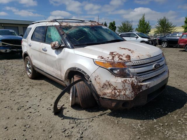 Salvage cars for sale from Copart Eugene, OR: 2015 Ford Explorer L