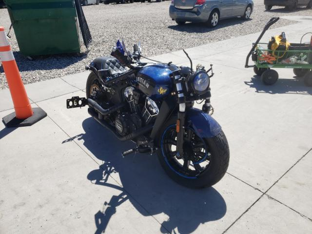 Salvage 2020 INDIAN MOTORCYCLE CO. MOTORCYCLE - Small image. Lot 44983071