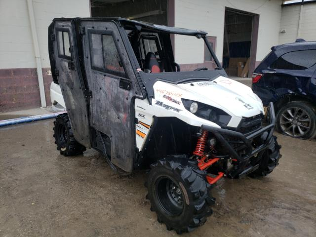 Salvage cars for sale from Copart Indianapolis, IN: 2018 Kawasaki KRT800 F