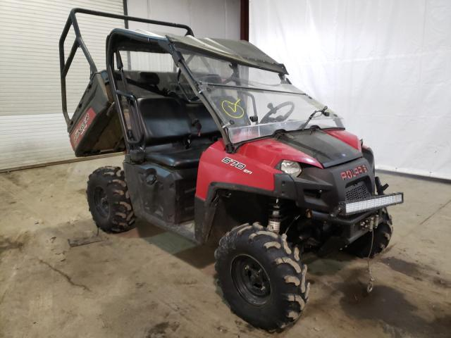 Salvage motorcycles for sale at Central Square, NY auction: 2019 Polaris Ranger 570