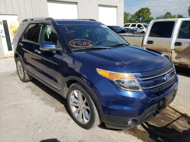 Salvage cars for sale from Copart Rogersville, MO: 2012 Ford Explorer L