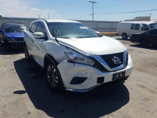 Salvage cars for sale from Copart Dyer, IN: 2017 Nissan Murano S