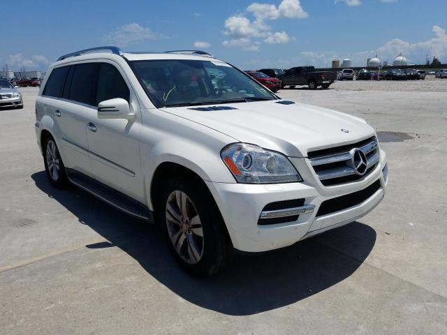 Salvage cars for sale from Copart New Orleans, LA: 2012 Mercedes-Benz GL 450 4matic