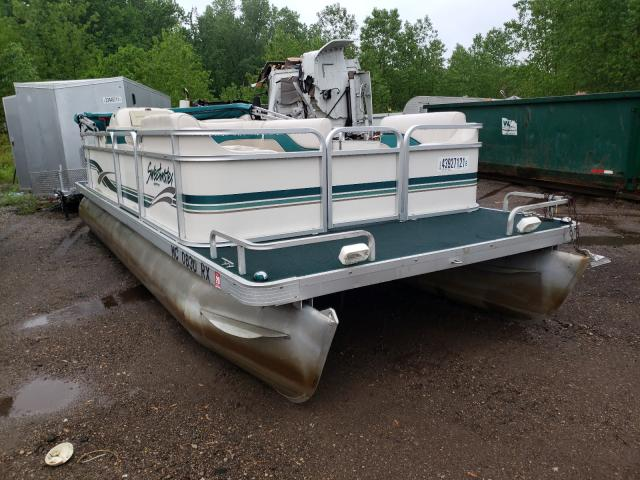 Salvage boats for sale at Portland, MI auction: 1999 Sweetwater Pontoon