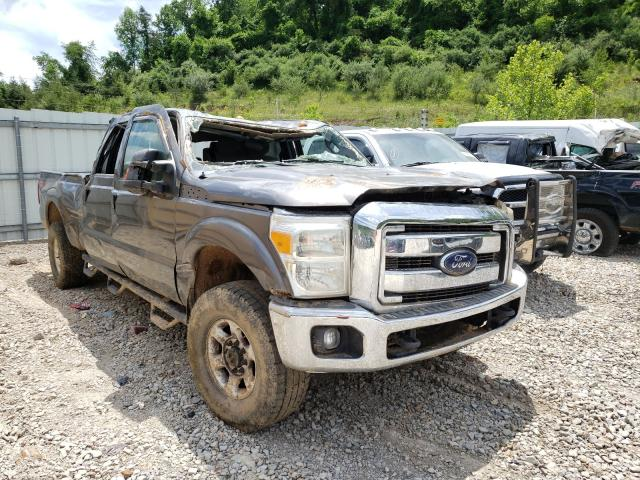 Salvage cars for sale from Copart Hurricane, WV: 2013 Ford F350 Super