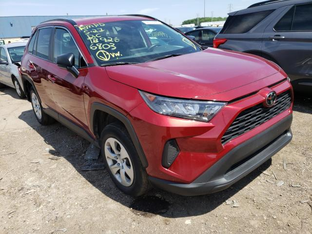 Toyota salvage cars for sale: 2020 Toyota Rav4 LE