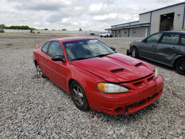 Salvage cars for sale from Copart Earlington, KY: 2003 Pontiac Grand AM G