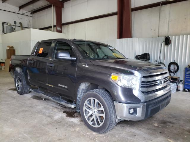 Salvage cars for sale from Copart Lufkin, TX: 2016 Toyota Tundra CRE