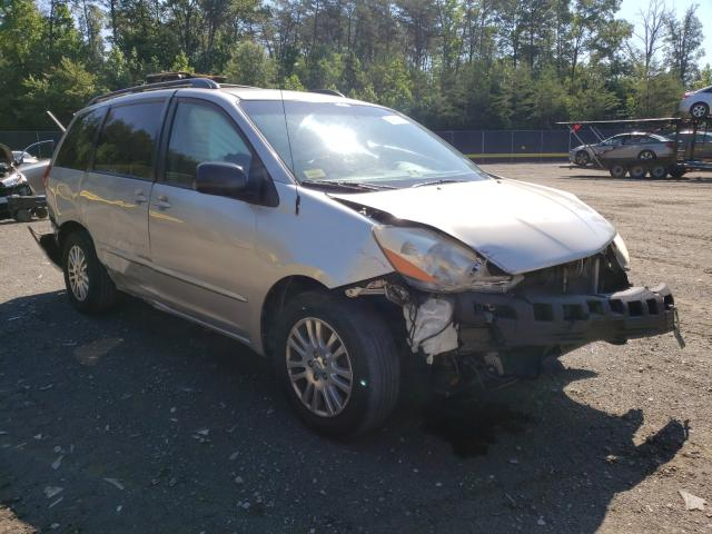 Toyota salvage cars for sale: 2008 Toyota Sienna LE