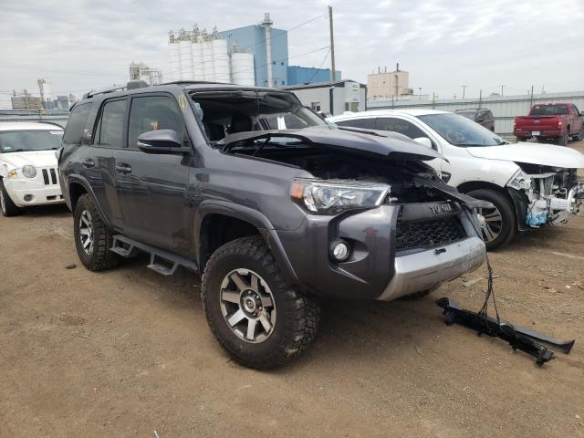 Salvage cars for sale from Copart Chicago Heights, IL: 2018 Toyota 4runner SR