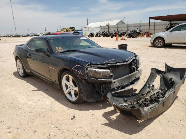 Salvage cars for sale from Copart Andrews, TX: 2015 Chevrolet Camaro LT