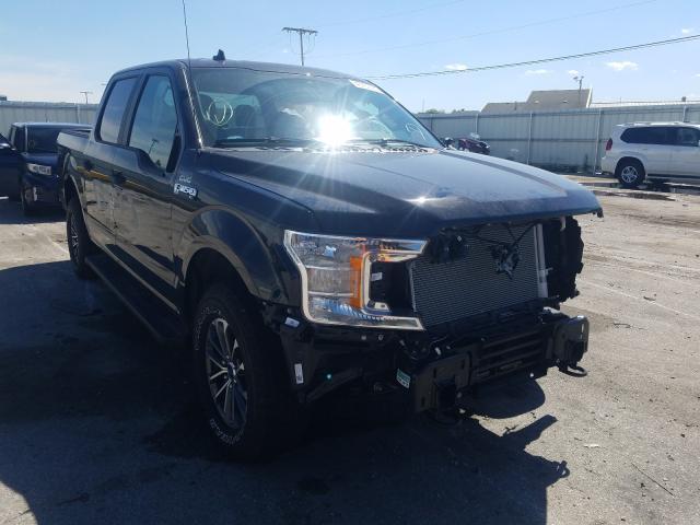 Vehiculos salvage en venta de Copart Dyer, IN: 2020 Ford F150 Police
