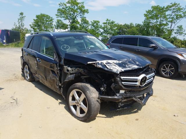 Salvage cars for sale from Copart Marlboro, NY: 2018 Mercedes-Benz GLE 350 4M