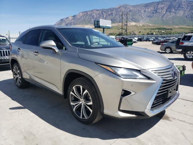 Salvage cars for sale from Copart Farr West, UT: 2017 Lexus RX 450H BA