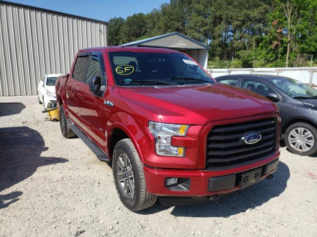 Salvage cars for sale from Copart Seaford, DE: 2016 Ford F150 Super