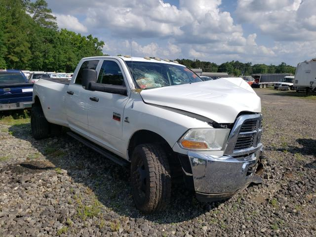 Salvage trucks for sale at Lufkin, TX auction: 2012 Dodge RAM 3500 S