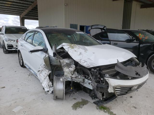 Salvage cars for sale from Copart Homestead, FL: 2015 Hyundai Sonata Sport