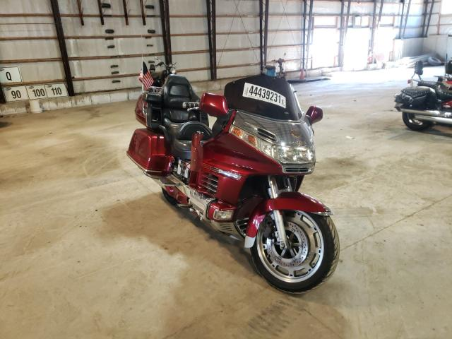Salvage motorcycles for sale at Candia, NH auction: 1999 Honda GL1500 A
