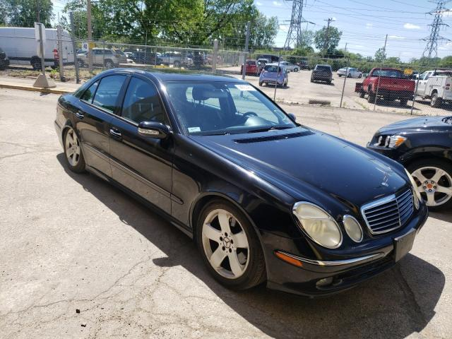 Salvage cars for sale from Copart Wheeling, IL: 2006 Mercedes-Benz E 500 4matic