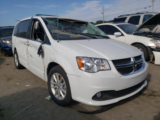 Carros salvage para piezas a la venta en subasta: 2019 Dodge Grand Caravan