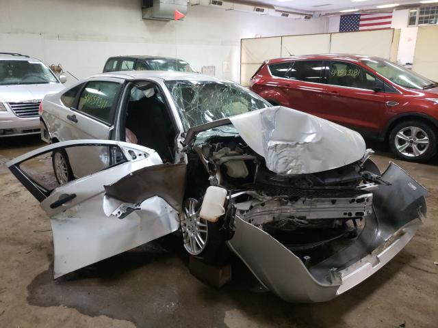 Salvage cars for sale from Copart Davison, MI: 2010 Ford Focus SE