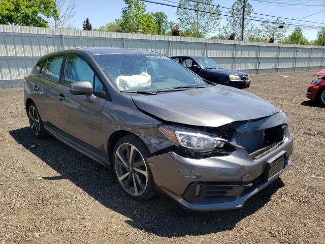 Salvage cars for sale from Copart New Britain, CT: 2021 Subaru Impreza SP