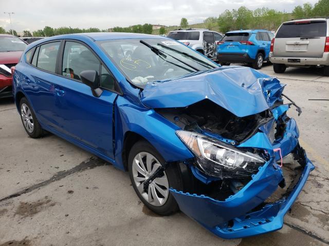 Subaru Impreza salvage cars for sale: 2020 Subaru Impreza