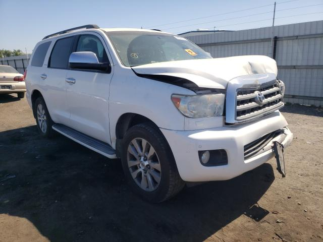 Salvage cars for sale from Copart Bakersfield, CA: 2013 Toyota Sequoia LI