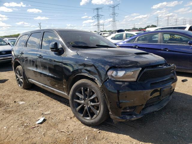 Salvage cars for sale from Copart Elgin, IL: 2018 Dodge Durango R