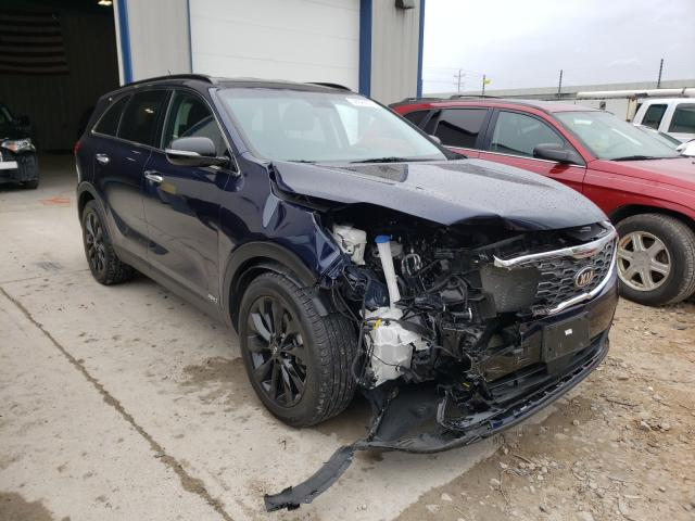Salvage cars for sale from Copart Appleton, WI: 2020 KIA Sorento S