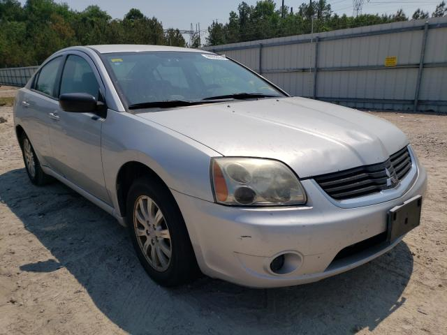 Salvage cars for sale from Copart Charles City, VA: 2008 Mitsubishi Galant ES