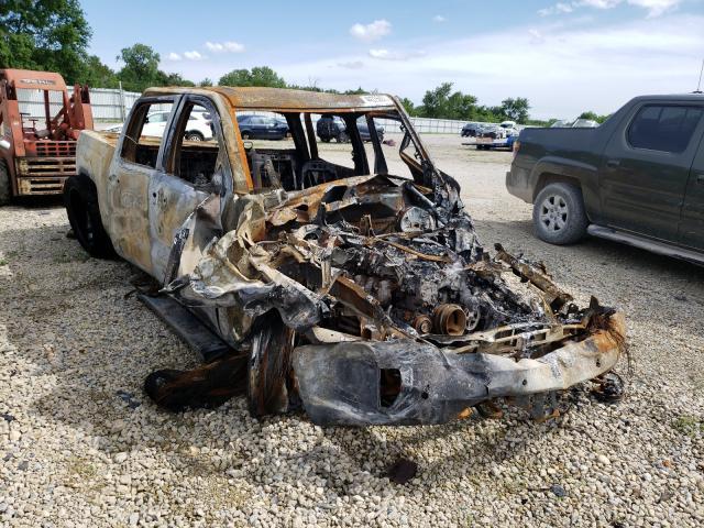 Salvage cars for sale from Copart Wichita, KS: 2016 Chevrolet Silverado