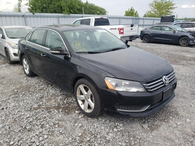 Salvage cars for sale from Copart Ontario Auction, ON: 2012 Volkswagen Passat SE
