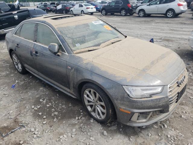 Salvage cars for sale at Alorton, IL auction: 2019 Audi A4 Premium