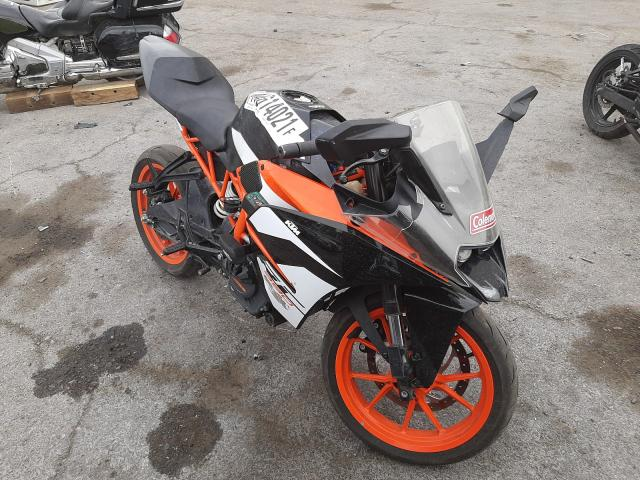 Salvage motorcycles for sale at Las Vegas, NV auction: 2018 KTM RC 390