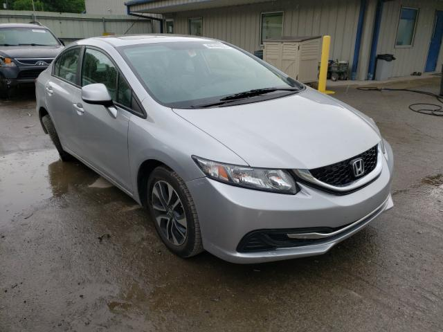 Salvage cars for sale from Copart Ellwood City, PA: 2013 Honda Civic EX