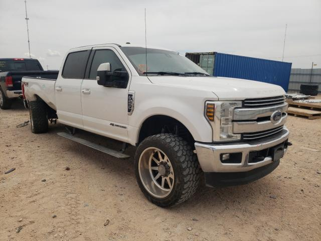 Salvage cars for sale from Copart Andrews, TX: 2018 Ford F250 Super