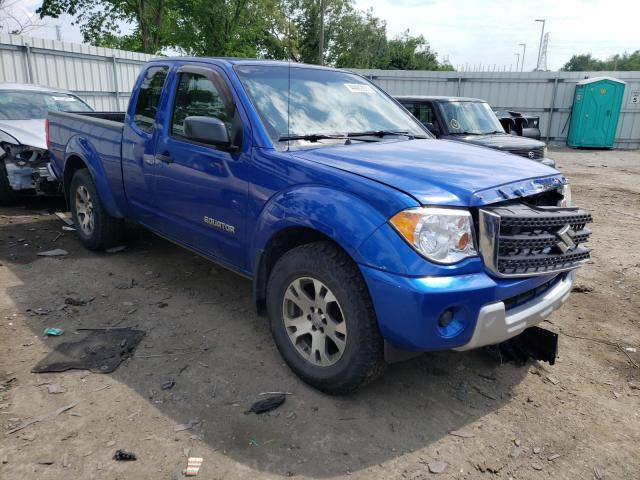 Salvage cars for sale from Copart West Mifflin, PA: 2012 Suzuki Equator SP